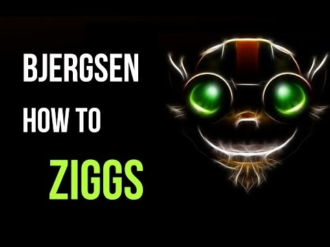 How To Play Ziggs! (ft. Bjergsen)
