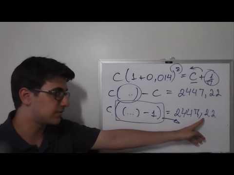 Juros simples e juros compostos - Matemática financeira