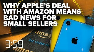 Apple's deal with Amazon: Good for you, but not this small seller (The 3:59, Ep. 491) - CNETTV