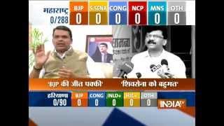 Maharashtra, Haryana Assembly polls: Counting of votes today - INDIATV