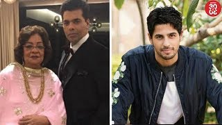 KJo's Plans For Mom Hiroo Johar's 75th Birthday   Sidharth Gears Up For Vikram Batra's Biopic - ZOOMDEKHO
