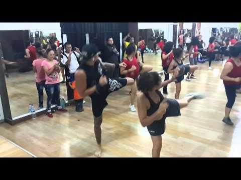 #DRAGONFIGHT EN AEROBICA FITNESS SCHOOL MARZO 2014