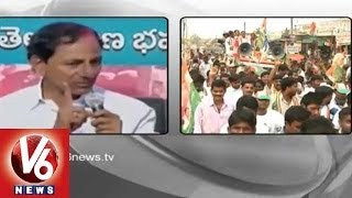 T Congress Leaders Fires on TRS Chief KCR's Fraud Promises - V6NEWSTELUGU