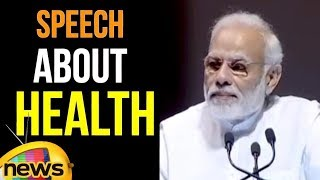 Modi Speech about Projects that would Augur well for the country's Health | Mango News - MANGONEWS