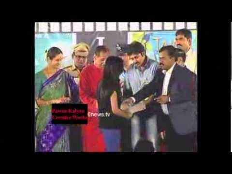 Pawan Kalyan At International Children Film Festival (ICFF) Hyderabad