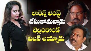 Sri Reddy targets Raghava Lawrence and Bellamkonda Suresh - IGTELUGU