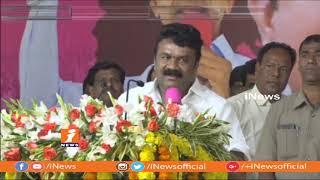 కేటీఆర్ కి ఉన్న క్రేజ్ దేశంలో ఎవరికీ లేదు | Talasani Srinivas Yadav Praises KTR | iNews - INEWS