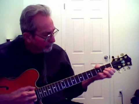 Over The Rainbow  (Jazz Guitar Chord Solo)