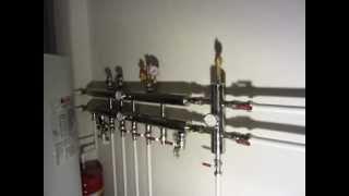 Котел, гидрострелка и коллектор в одной системе