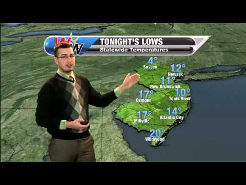 January 28th, 2014 evening forecast