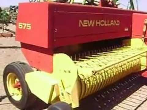 MOV02208 Empacadora New Holland 575 Alambre $10,000 Dlls.