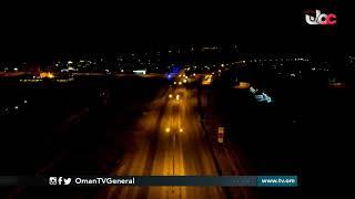 مشاهد جوية من ولاية #عبري بعد سريان فترة #منع_الحركة