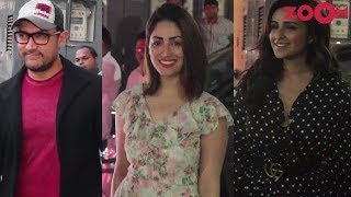 Rubaru Roshni Movie Screening | Aamir Khan, Parineeti Chopra, Yami Gautam, Jacqueline| Bolly Quickie - ZOOMDEKHO