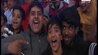 PWL 3 Day 8: Helen Maroulis VS Pooja Dhanda Pro Wrestling League at season 3  Highlights - ITVNEWSINDIA
