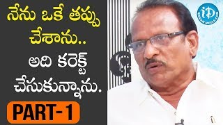 Special Effects Legend Eknath Exclusive Interview - Part #1 || Talking Movies with iDream - IDREAMMOVIES