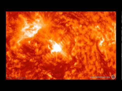 M-Class Flare Today — after Large Solar Prominence eruption yesterday. Hqdefault