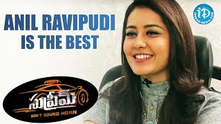 Anil Ravipudi Is The Best Director I Have Worked With - Raashi Khanna || #SupremeMovie - IDREAMMOVIES
