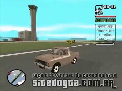 MOD da pick-up japonesa Isuzu 27151 para o jogo GTA San Andreas