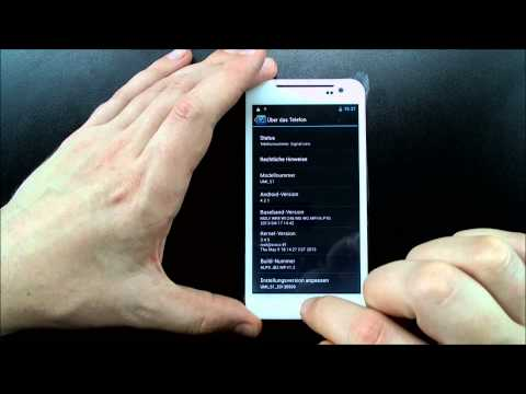 UMI S1 5.0 pollici IPS Gorilla Glass Quad Core Android 4.2 Recensione Italiano (C) CECT-SHOP.com