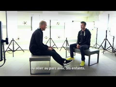 Wywiad z Davidem Beckhamem, który przeprowadził... Zinedine Zidane