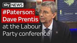 #Paterson: Dave Prentis at the Labour Party Conference - SKYNEWS