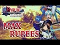 Hyrule Warriors: Fast Max Rupees Glitch
