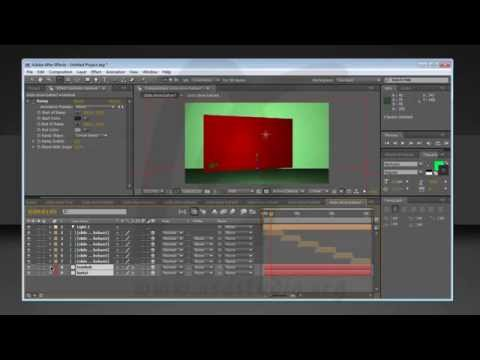 Membuat Slide Show Animasi Photo 3 Dimensi, After Effects Tutorial