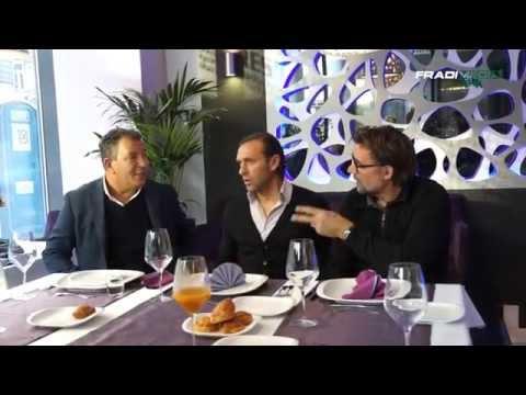 FM | Henk Ten Cate együtt ebédelt a Fradi szakmai stábjával | 2014.11.21.