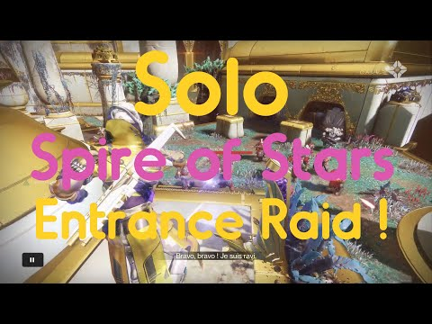 Solo Entrance Spire of Stars #MOTW