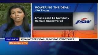 Newsroom:  JSW, JP Seal The Deal - BLOOMBERGUTV