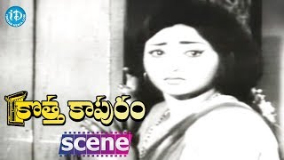 Kotta Kapuram Movie Scenes - Chandra Mohan Marries Padma || Krishna || Rajanala - IDREAMMOVIES