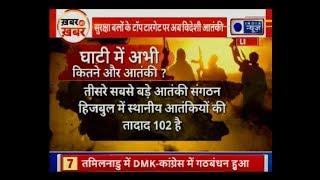 देखिए कश्मीर घाटी में अभी तक कितने और आतंकी? भारत-सऊदी अरब के बीच क्या-क्या समझौते हुए - ITVNEWSINDIA