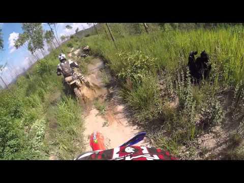 Trilha de moto   Oleoduto Cajamar e regiao 09 01 2015