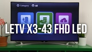 Обзор телевизора LeTV X3-43 FHD LED Smart TV - Keddr.com