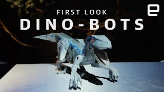 Jurassic World dino-bots First Look - ENGADGET