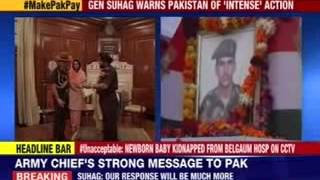 General Dalbir Suhag's strong message to Pakistan - NEWSXLIVE