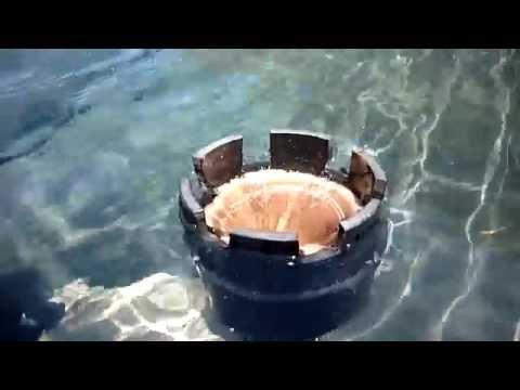 Related video for Homemade skimmer filter