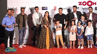 Notebook Movie Trailer Launch | Salman Khan, Zaheer Iqbal, Pranutan Bahl | Bolly Quickie - ZOOMDEKHO
