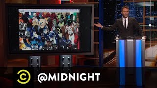 A Furry Alternative to Comic-Con - @midnight with Chris Hardwick - COMEDYCENTRAL