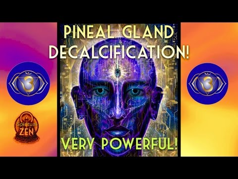 PINEAL GLAND DECALCIFIER! 2017 FLUORIDE DETOX! (CAUTION) ONLY LISTEN WHEN READY 3RD EYE MEDITATION