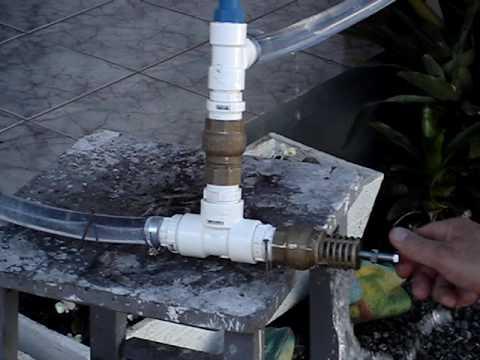 Carneiro Hidráulico, Hydraulic ram pump, Bomba de ariete