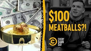 We Made Chris Distefano Choose Between $100 Meatballs and Cash - COMEDYCENTRAL