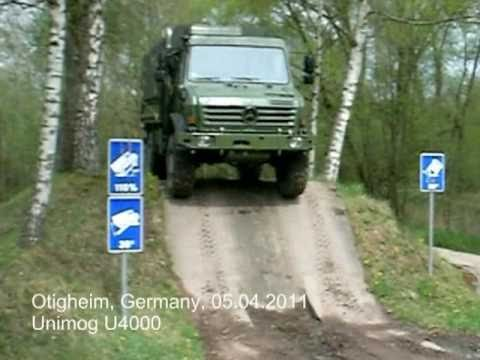 Mercedes-Benz Unimog U4000 Hard Test 2011 I Eurotruck Dealer Mercedes