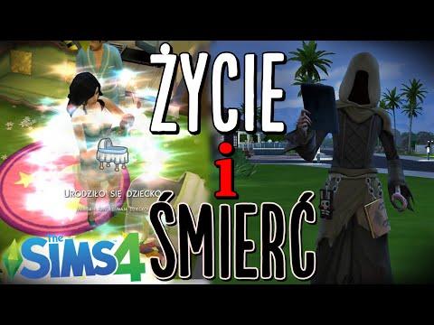 #8 The Sims 4 - Poród i śmierć. Mroczny kosiarz!