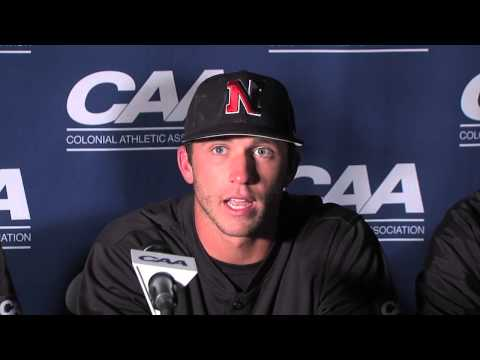 2013 Baseball #CAAChamps Game 8 Postgame Press Conference -- Northeastern