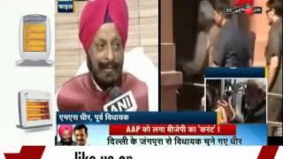 AAP ex-Assembly speaker MS Dhir joins BJP - ZEENEWS