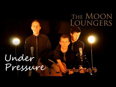 Under Pressure Queen | 3 People on 1 Acoustic Guitar