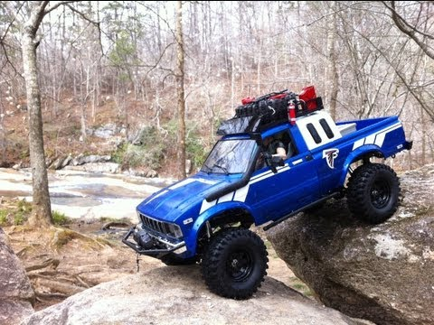 RC4WD Trail Finder 2 Versus The River... Tybo's RC Motorsports