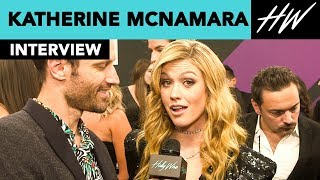 Katherine McNamara Star Of Shadowhunters Reveals She Ate Blood On Set Of Season 3!! I Hollywire - HOLLYWIRETV