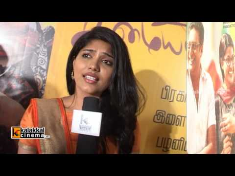 Samyuktha Hornad Speaks at Un Samayal Arayil Movie First Look Launch